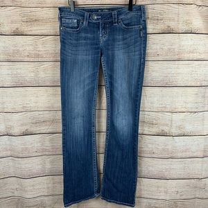 Silver Jeans Tuesday Medium Wash Bootcut Size 28
